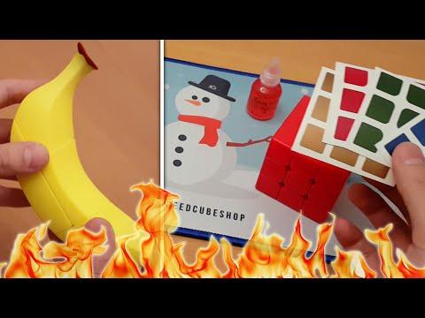 BANANA CUBE & SPECIAL CHRISTMAS UNBOXING | SpeedCubeShop.com