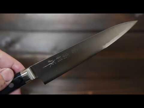 高村刃物 ペティナイフ 130mm プロ R2粉末ハイス鋼 鞘付~Takamura hamono 【pro】Petty knife(130mm) R2 Include(Saya)~
