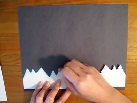 Northern Lights Preschool Chalk Pastel Lesson Youtube