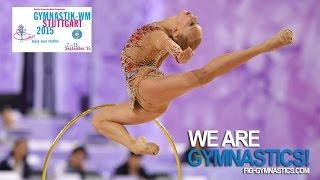 Yana KUDRYAVTSEVA (RUS), an Angel with Iron Wings - We Are Gymnastics !