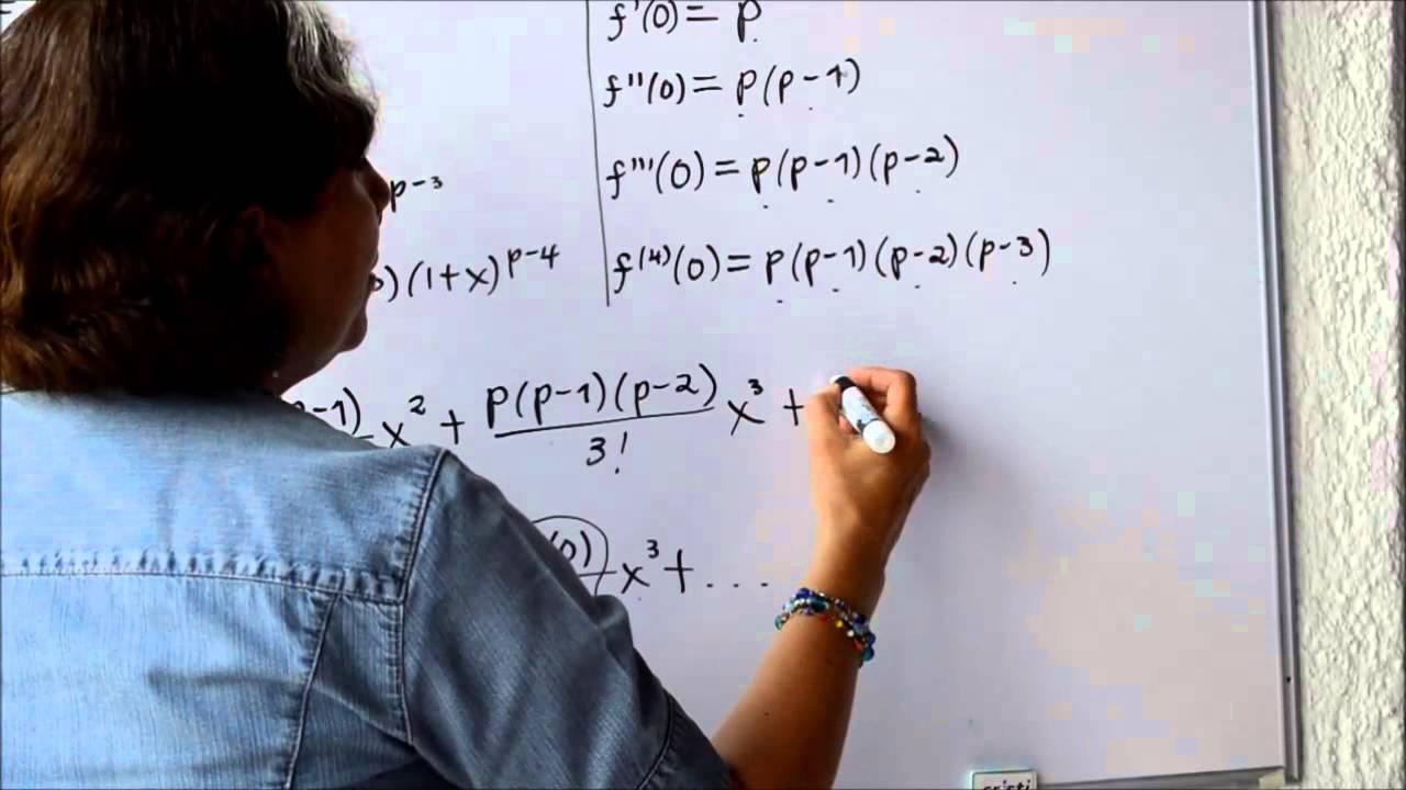 La serie Binomial para construir otras series de Taylor - YouTube
