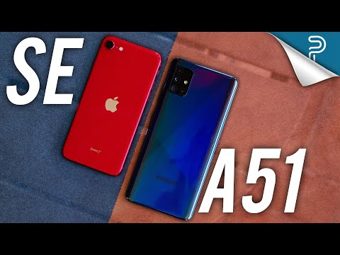 Apple iPhone SE vs Samsung Galaxy A51 - BEST $399 phone?