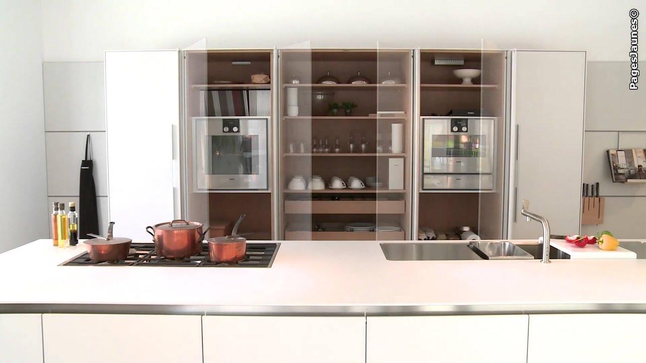 Bulthaup cuisines andr gilbert vente installation de cuisines youtube for Bulthaup cuisine