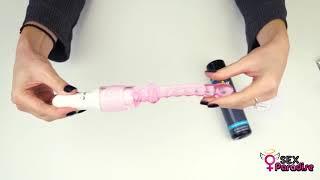 Видеообзор - Силиконовый анальный вибратор – 23,5 см от sex-paradise.com.ua