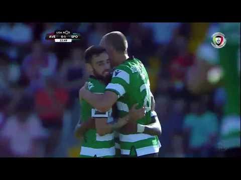 Todos os golos do Sporting liga portuguesa 17/18 [ golo 01]