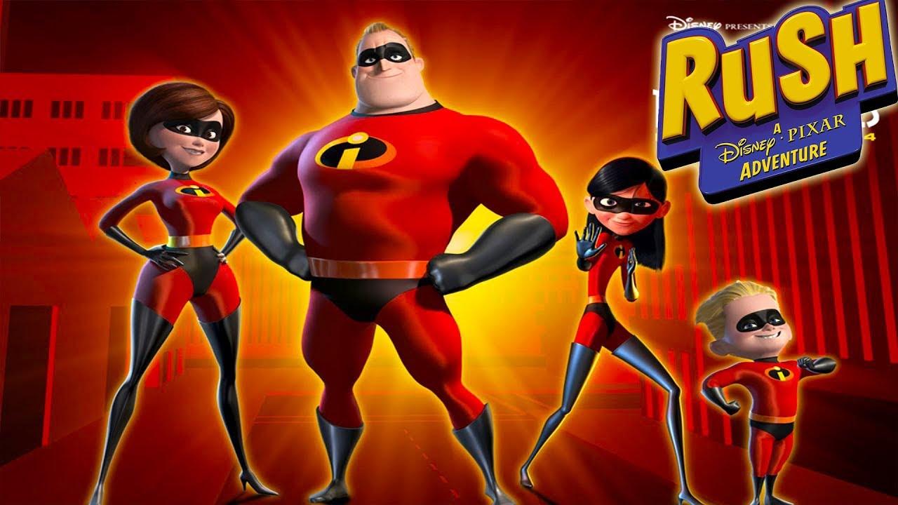 Gli incredibili supereroi video di giochi di cartoni animati in