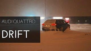 Best Audi A6 C6 Quattro Drift 60 FPS /SNOW DRIFT