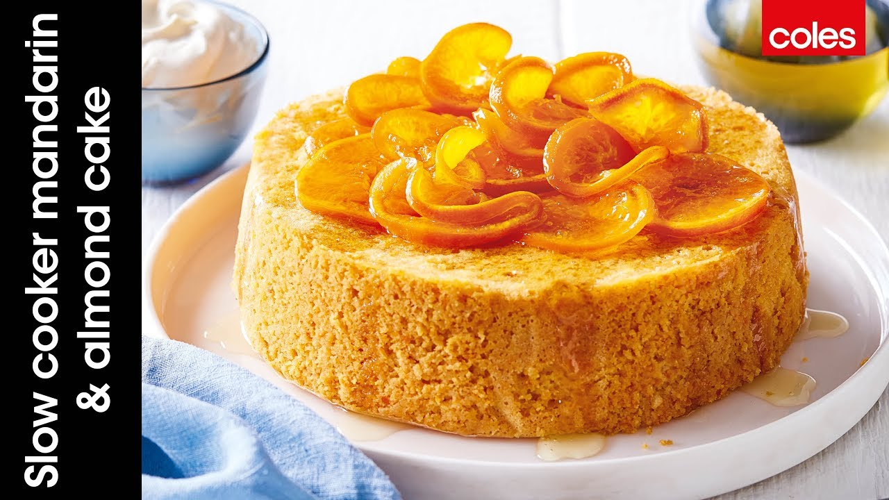 Mandarin And Almond Cake Coles