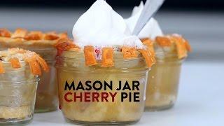 How To Make Mason Jar Cherry Pies | Myrecipes