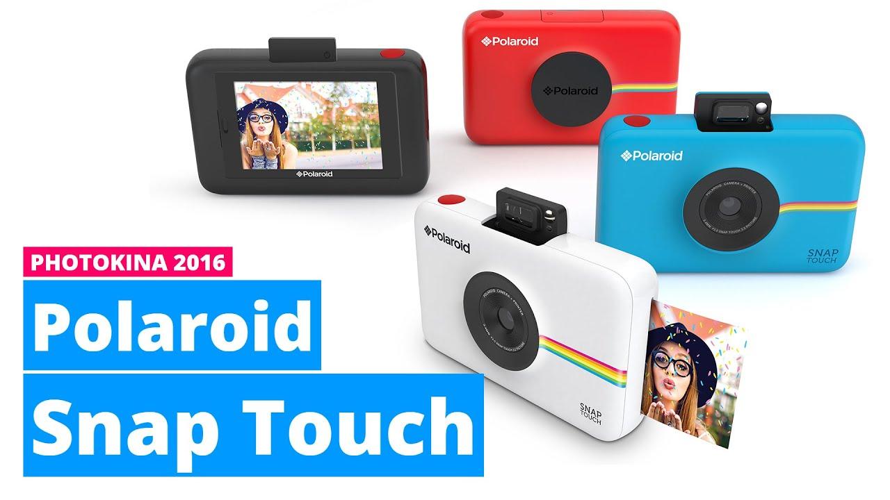 Polaroid Snap Touch: info, caratteristiche e aggiornamenti