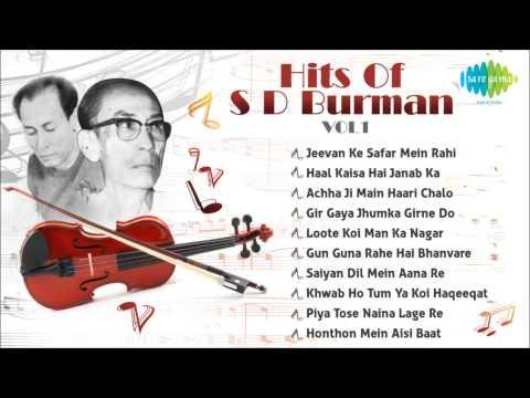 Best Of S D Burman - Old Hindi Songs - S D Burman Hits - Music Box - Vol 1
