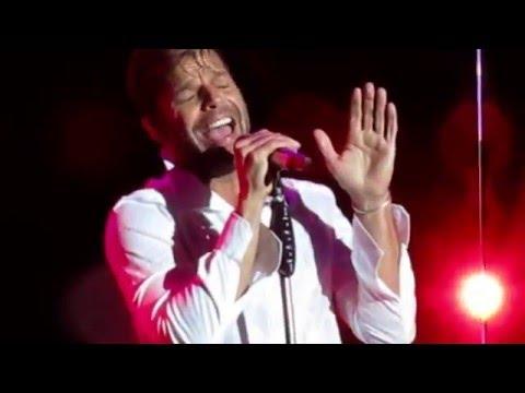 Disparo al corazón , Ricky Martin 2016. buenos Aires. Velez