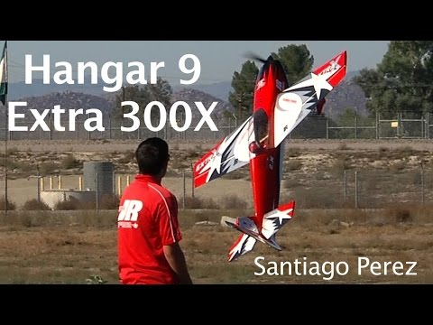 Hangar 9 Brand New Extra 300X Flown by  Santiago Perez