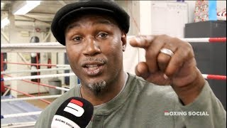 LENNOX LEWIS IN-DEPTH: WILDER-FURY, ANTHONY JOSHUA, EMANUEL STEWARD, LEARNING IN DEFEAT & UNDISPUTED