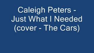 Watch Caleigh Peters Just What I Needed video