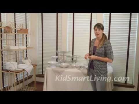 How to set a great buffet party table even in small spaces youtube - Using small spaces set ...