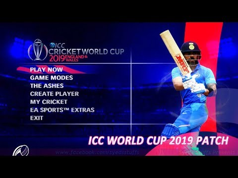 How To Download And Install World Cup 2019 Patch For Cricket 07