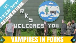 RV LIFE | THE TWILIGHT TOWN TOUR | FORKS, WA  | The Freedom Theory