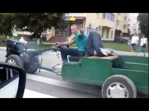У Шепетівці водій мотоблоку побив поліцейського