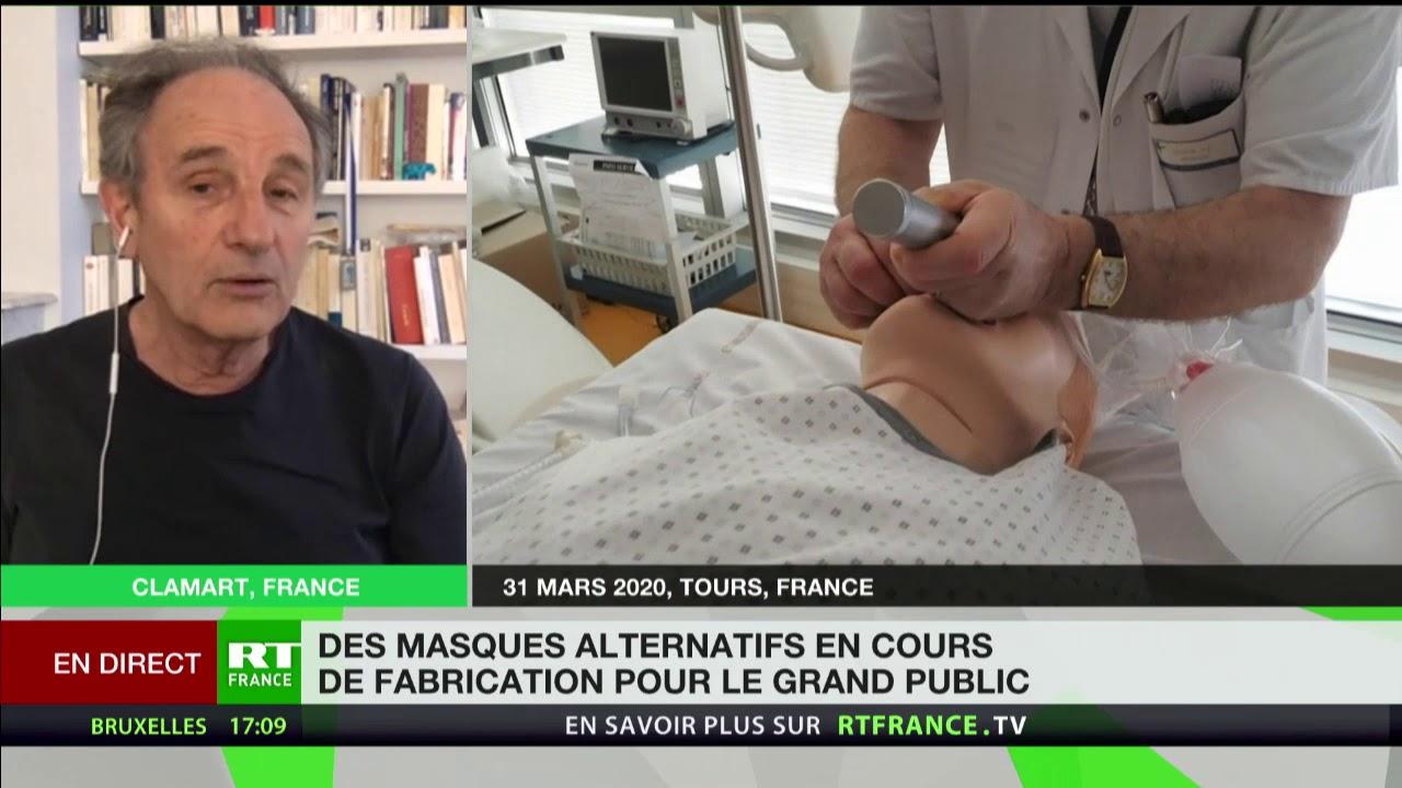 Coronavirus : «Il est évident que les gens devraient sortir masqués», selon Jean-Paul Hamon