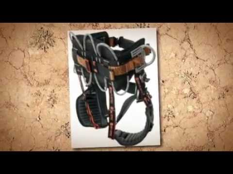 how to use a tree climbing harness