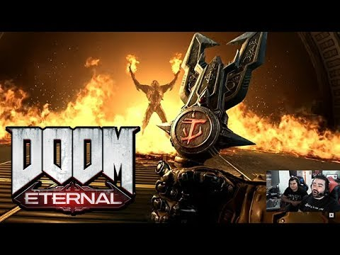 Doom: Eternal Gameplay - Angry Trailer Reaction!