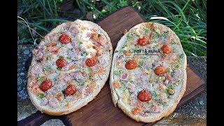 [4.68 MB] Pizza pe felii de paine, reteta simpla, ieftina si rapida