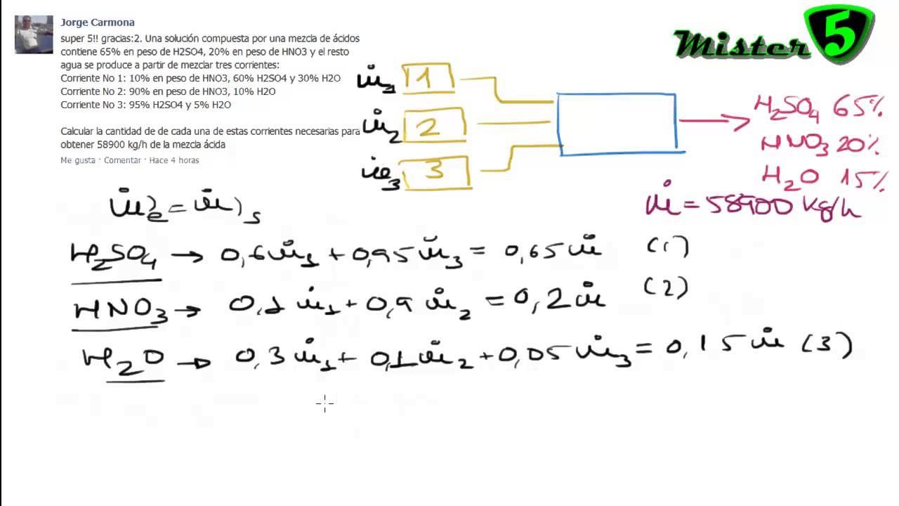 Balance de materia 1 3 reacci n qu mica procesos for La quimica y la cocina pdf