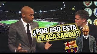 Henry explicó porque el sistema de Guardiola, el Barcelona y España ya no FUNCIONAN