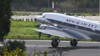 Douglas DC-3 Dacota at Corfu Airport