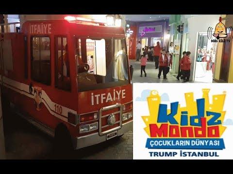 KidzMondo Çocukların Dünyası Gezimiz-Trump Towers İstanbul-KidzMondo Children's World İstanbul