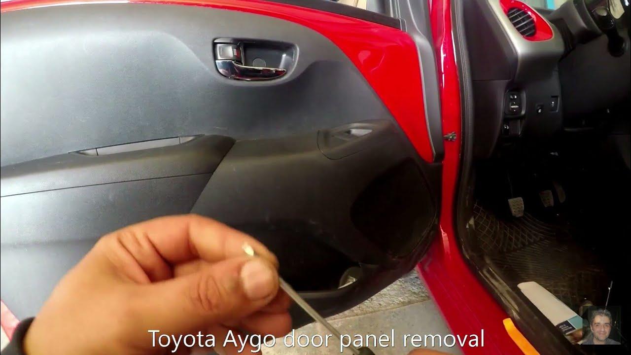 Toyota Aygo 2014 Present Door Panel Removal Youtube