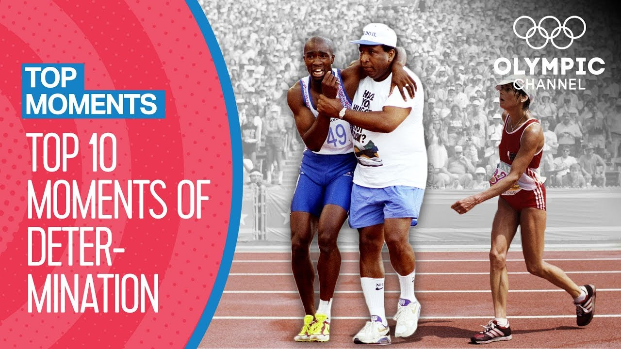 Olympic Top 10 Moments of Determination