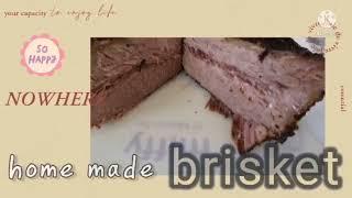 텍사스 바베큐 브리스킷 - 코스트코 고기와 광파오븐으로…