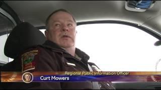 MN State Patrol Warning Drivers to Be Cautious - Lakeland News at Ten - April 11, 2013