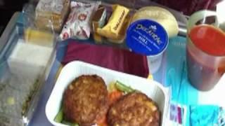 Qatar Airways - Lunch in economy class