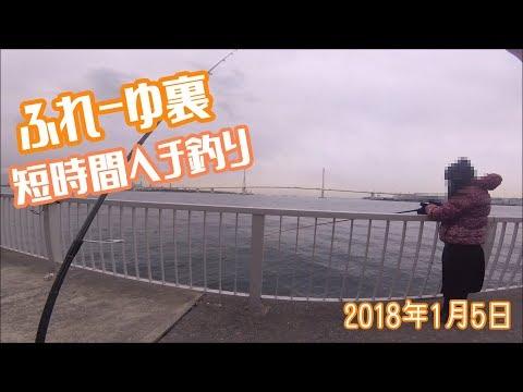 ふれーゆ裏短時間ヘチ釣り2018年1月5日