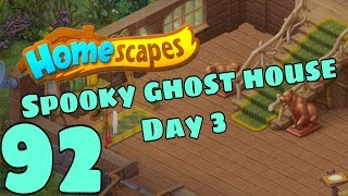 HOMESCAPES - Gameplay Walkthrough Part 92 - New Lake Cabin Day 3