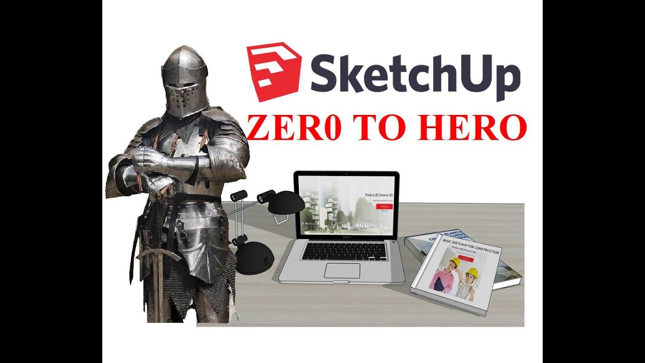 SketchUp 2019 - ตอนที่ 69/การใช้คำสั่ง Make Unique