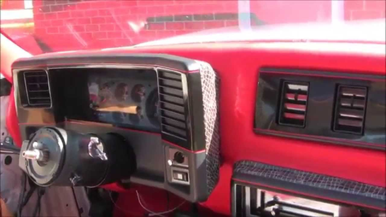 1987 Monte Carlo Ss Dash Alarm Some Of My Thoughts Youtube