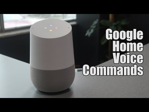 Voice Commands for Google Home | Tech Time with Arkan