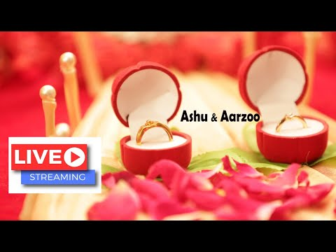 Ashu & Aarzoo, Live Ring Ceremoney, Video by Deep Photography Sikhawala,