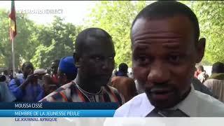 La communauté peule manifeste à Mali