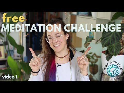 free-21-day-meditation-challenge---link-to-join-in-description-|-video-1-|-yoga-with-roos