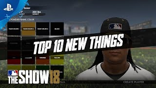 MLB The Show 18 - Gamestop Monday: Top 10 New Things | PS4