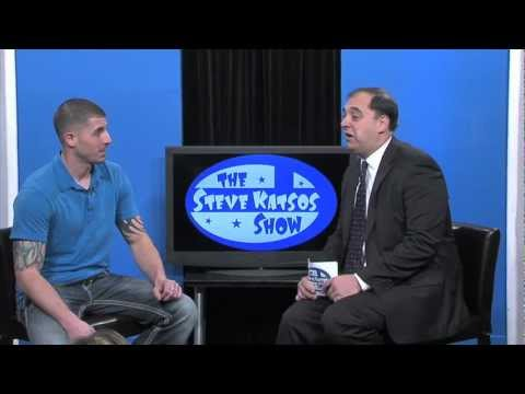 """Jon Niedzwiecki from A&E's """"Southie Rules"""" appears on The Steve Katsos Show"""
