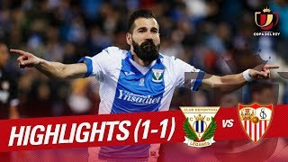 Resumen de CD Leganés vs Sevilla  FC (1-1)
