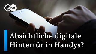 Mobilfunk-Verschlüsselung: Jahrzehnte alte Sicherheitslücke in Handys entdeckt   DW Nachrichten
