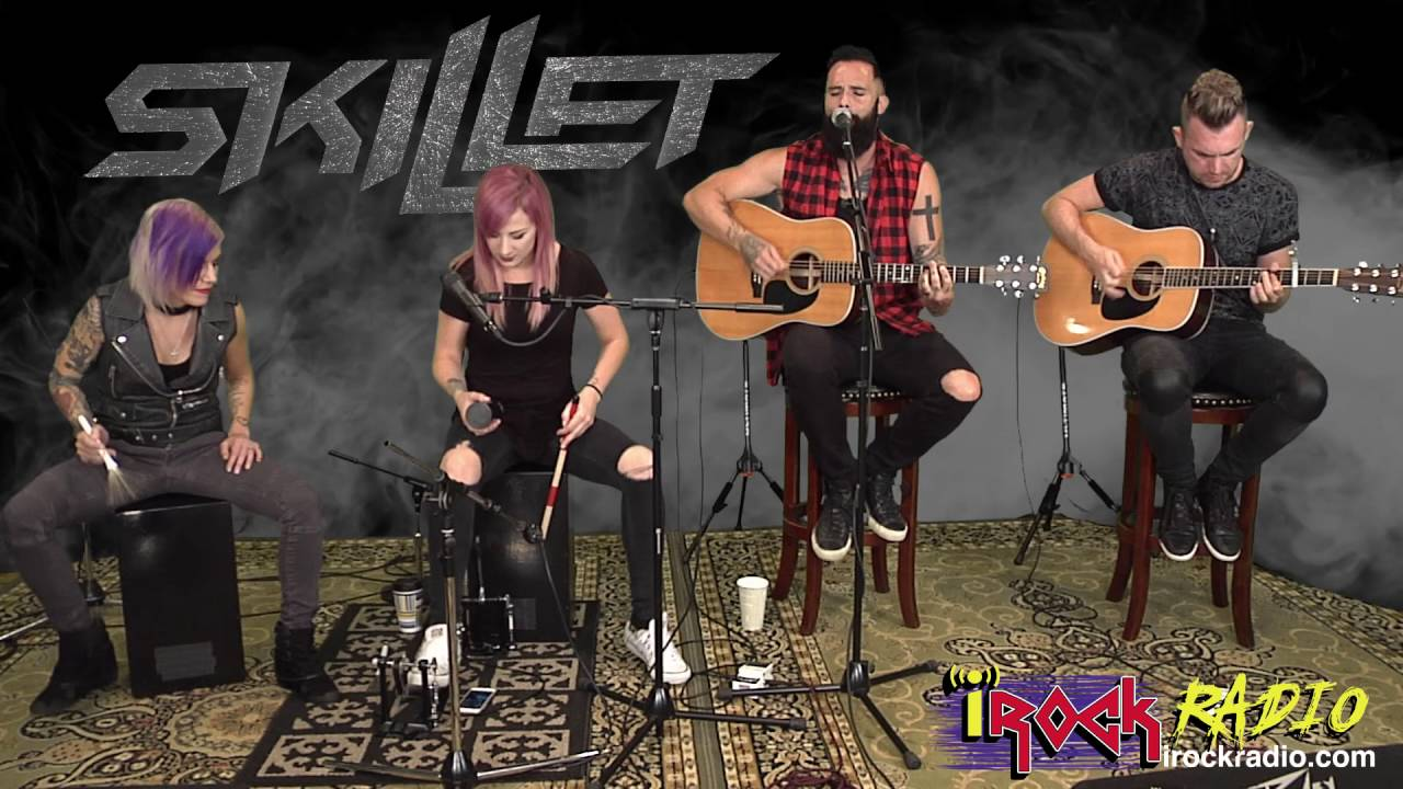 Irockradio Skillet Acoustic Monster Chords Chordify