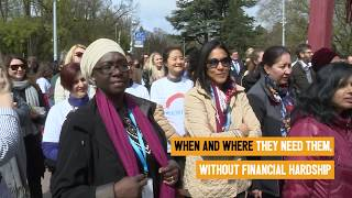 WHO Geneva Solidarity Chain for Health for All